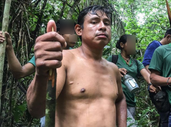 Integrante de associação local diz que o território está invadido e indígenas estão sob ameaça
