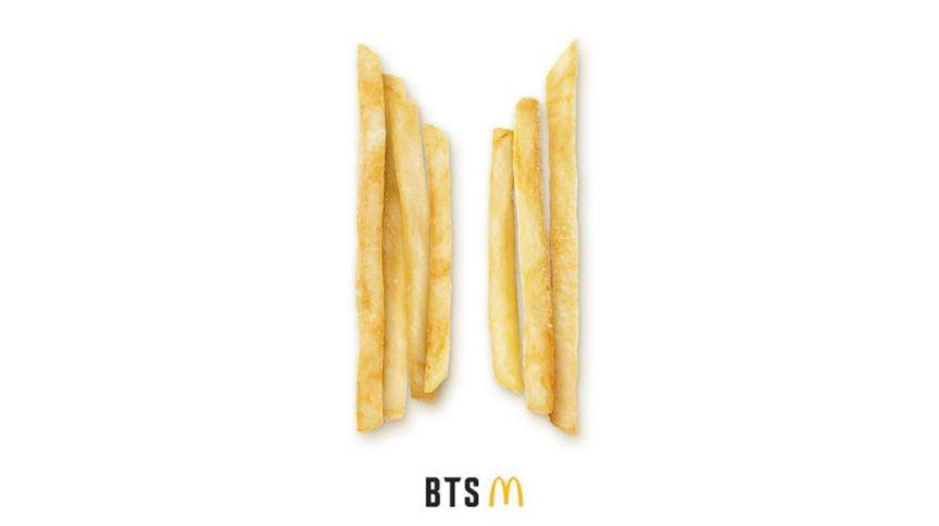 McDonald's lançará prato do grupo BTS em seu cardápio