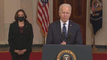 """Em discurso, presidente e vice-presidente dos EUA comentaram medidas pelo fim do """"racismo sistêmico"""" após condenação de ex-policial"""