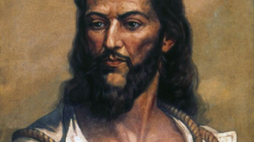 Pintura de Tiradentes feita por Oscar Pereira da Silva