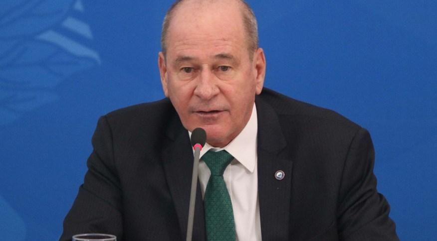 O ministro da Defesa, Fernando Azevedo e Silva (1º.abr.2020)