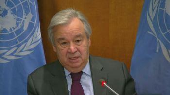 """Antonio Guterres disse que as Nações Unidas estão """"engajando ativamente todos os lados em um cessar-fogo imediato"""""""