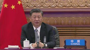 'Países desenvolvidos precisam se comprometer com a ação climática dentro de suas dificuldades aumentar sua ambição,' disse Xi Jinping