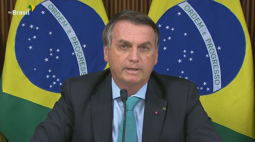 O presidente do Brasil, Jair Bolsonaro, destacou ações ambientais do país na Cúpula de Líderes sobre o Clima