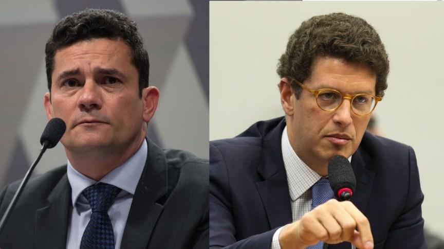 Sergio Moro e Ricardo Salles
