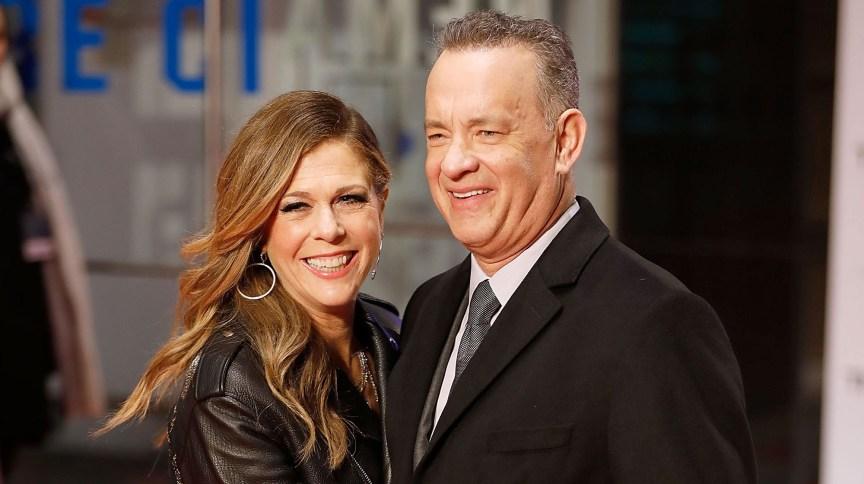 Tom Hanks e sua mulher, Rita Wilson