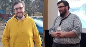 Quando a balança atingiu 195 quilos, White decidiu que era hora de mudar o estilo de vida