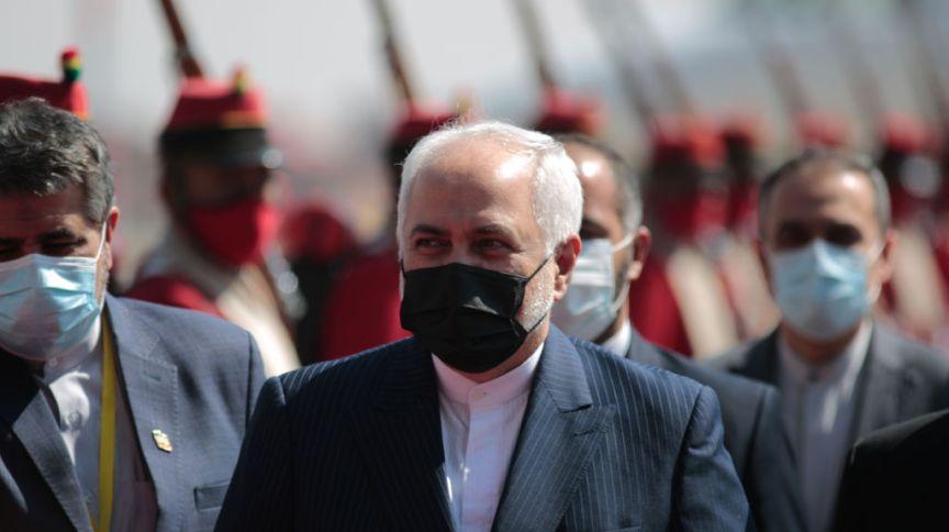 O ministro das Relações Exteriores do Irã, Javad Zarif