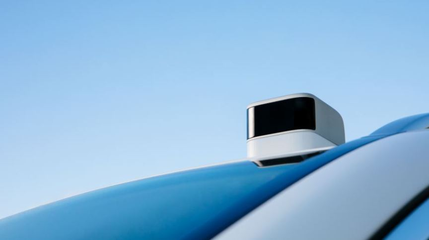 Sensor usado em veículos de direção autônoma