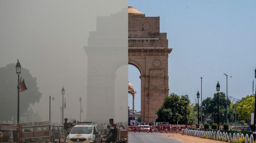 Poluição do ar em Nova Déli, na Índia, reduziu 60% entre 23 de março e 13 de abril, durante isolamento contra o novo coronavírus