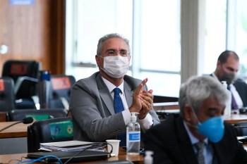 Jorginho Mello (PL-SC), Eduardo Girão (Podemos-CE) e Marcos Rogério (DEM-RO) acionaram o Supremo contra a indicação do senador do MDB-AL para relator