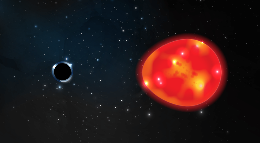 Cientistas da Universidade do Estado de Ohio descobriram um novo buraco negro, que foi batizado de 'Unicórnio'