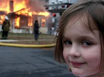 A imagem conhecida como Disaster Girl foi transformada em NFT e adquirida na internet por um comprador misterioso