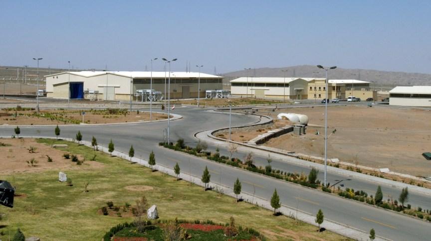 Vista da instalação iraniana de enriquecimento de urânio de Natanz, a 250km ao sul da capital Teerã
