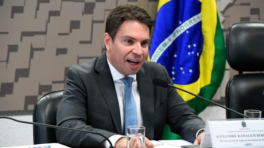 Diretor-geral da Agência Brasileira de Inteligência (Abin), Alexandre Ramagem, escolhido por Bolsonaro para comandar a Polícia Federal.