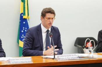 Joaquim Álvaro Pereira Leite, que já trabalhava na pasta sob o comando de Salles, foi nomeado pelo presidente como novo ministro do Meio Ambiente