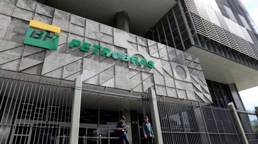 Fachada da sede da Petrobras, no Rio de Janeiro (16.Out.2019)