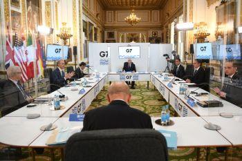 Os ministros das finanças do G7 apoiaram mudanças nas regras tributárias globais, apoiando uma alíquota mínima de imposto de pelo menos 15% para multinacionais