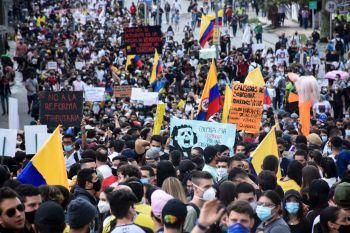 Manifestações miravam o cancelamento de reforma tributária, mas nos últimos dias têm abordado mais questões