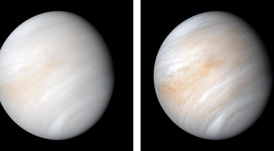 """Vênus muitas vezes é considerado como o """"irmão mau"""" da Terra, por conta dos mistérios que o cercam"""