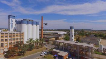 Em parceria com a startup Speedbird Aero, o voo foi realizado na cidade de Jaguariúna, no interior de São Paulo, onde fica uma das fábricas da cervejaria