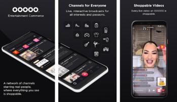 Plataforma OOOOO, baseada em entretenimento, tem o aplicativo de compras mais baixado da Inglaterra nos últimos meses
