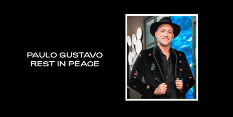 Beyoncé posta homenagem a Paulo Gustavo em site oficial