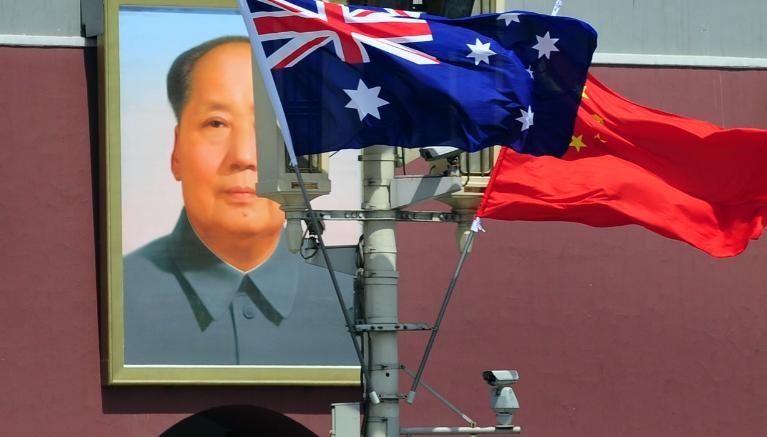 A relação entre China e Austrália estão abaladas