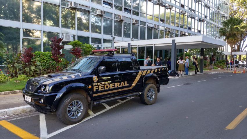 Procuradores se manifestaram contra troca do comando da Polícia Federal