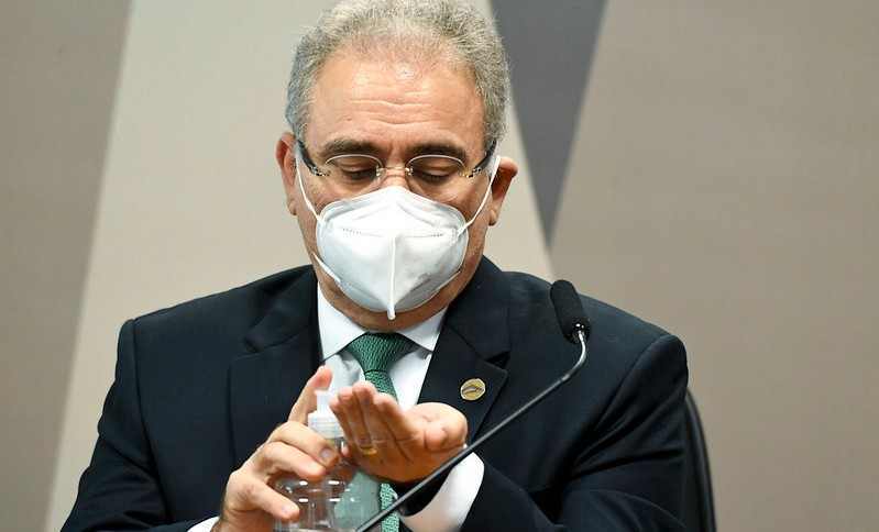 Ministro da Saúde, Marcelo Queiroga, presta depoimento à CPI da Pandemia