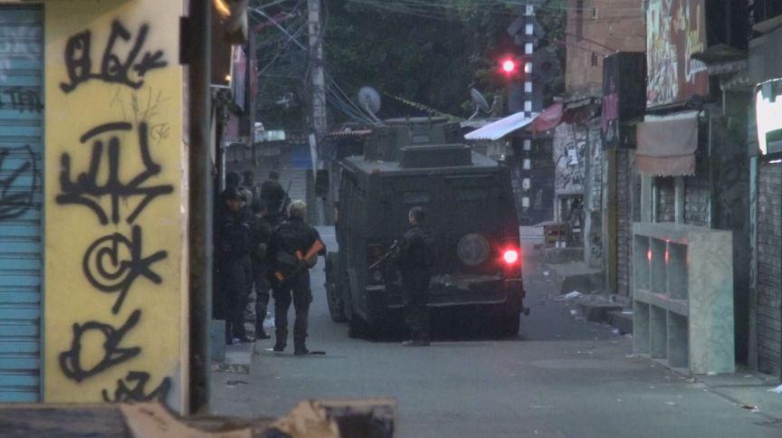 Polícia realizou uma operação que terminou em 28 mortes no Jacarezinho