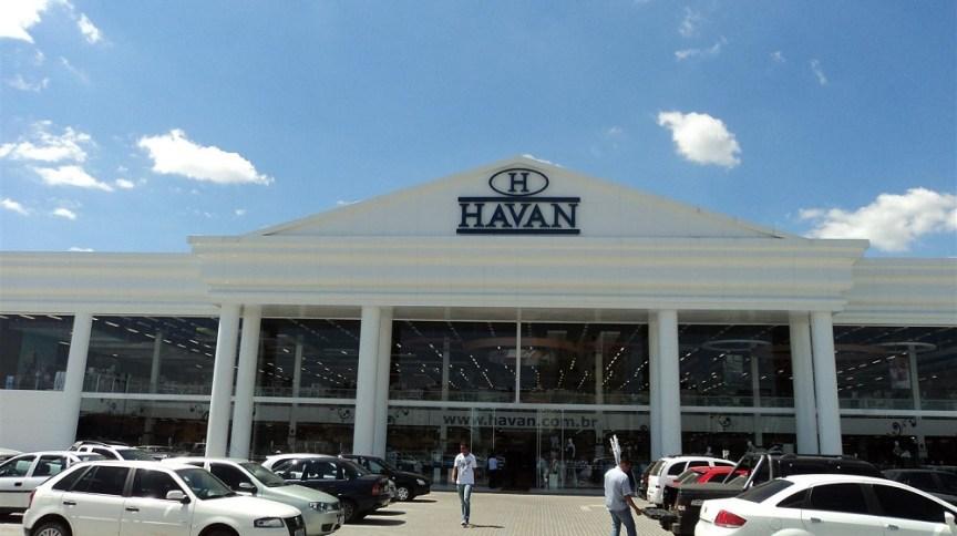 Loja da Havan, em Pinhais, no Paraná
