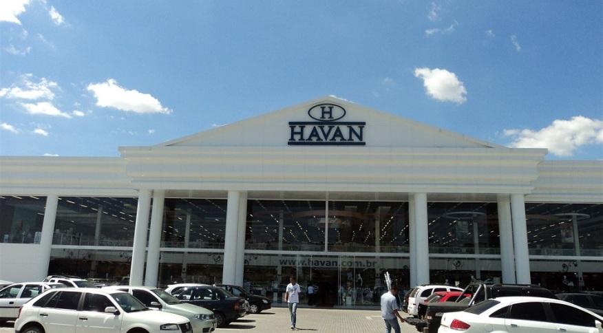 Loja da Havan, em Pinhais, no Paraná: apesar de força no varejo físico, a empresa ainda pena no digital