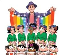 """""""Paulo Gustavo trouxe tantas cores para nossas vidas. Descanse em paz, querido amigo. Você é eterno"""", escreveu o cartunista"""