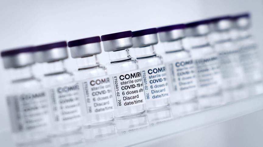 UE assinou contato para comprar até 1,8 bilhão de doses de vacina contra Covid-19 da Pfizer