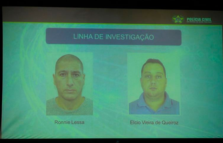 Polícia divulga fotos dos suspeitos de matarem Marielle Franco e Anderson Gomes