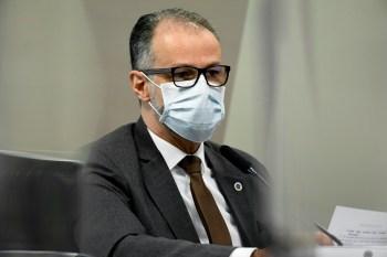 Segundo o relator da CPI, o depoimento do presidente da Anvisa foi muito diferente do prestado pelo ministro da Saúde, Marcelo Queiroga