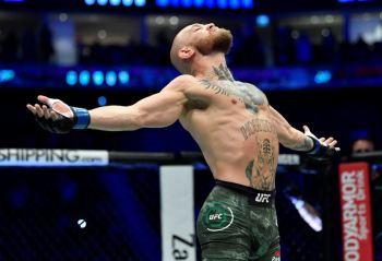 No período de 12 meses encerrado em 1º de maio de 2021, o astro do MMA lucrou US$ 180 milhões, diz a Forbes