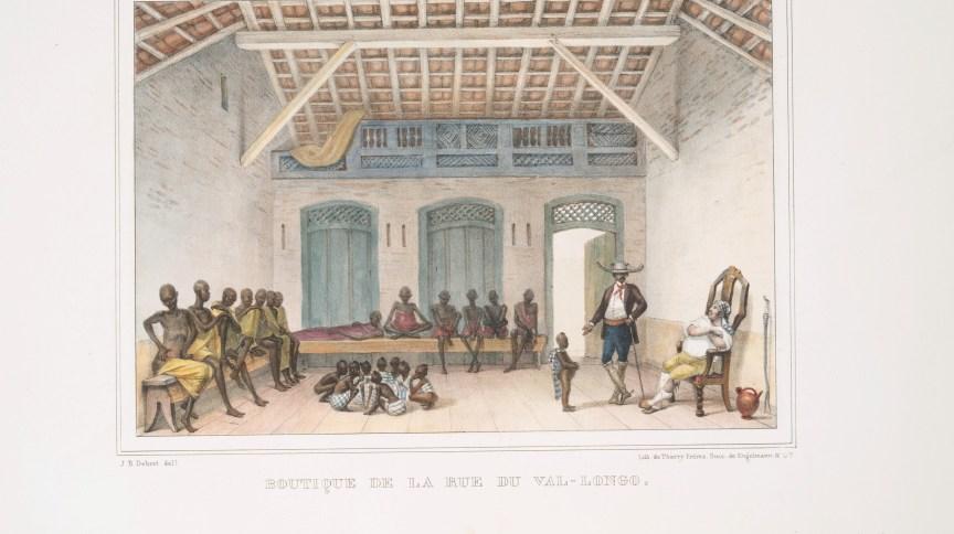 Boutique de la rue du Val-Longo, de Jean Baptiste Debret