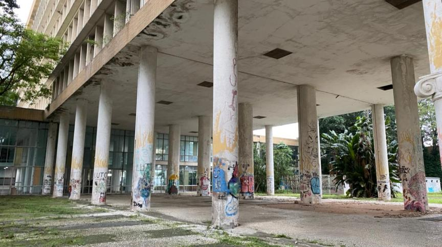 Campus da Universidade Federal do Rio de Janeiro (UFRJ) na Ilha do Fundão
