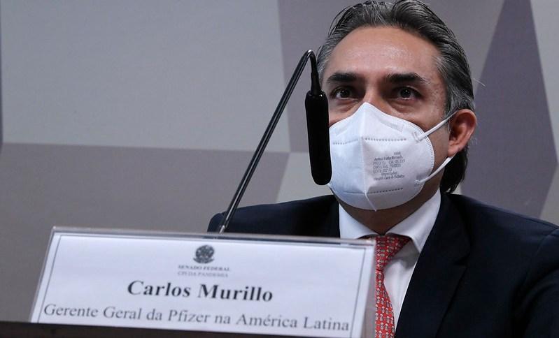 CEO da Pfizer na América Latina, Carlos Murillo