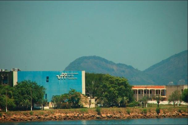 Vista à distância da Universidade Federal Fluminense