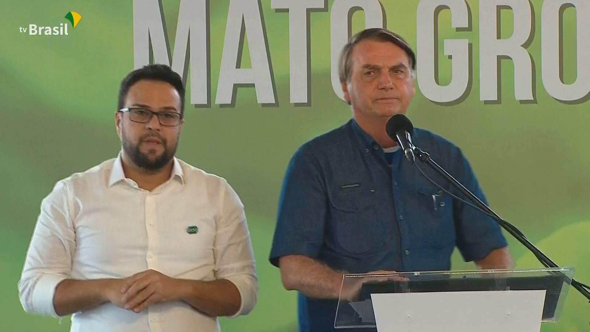 Presidente Jair Bolsonaro (sem partido) participa de evento