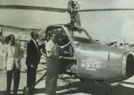 Projeto iniciado pelo engenheiro alemão Henrich Focke, ex-colaborador do regime nazista, resultou no primeiro helicóptero projetado e construído no Brasil