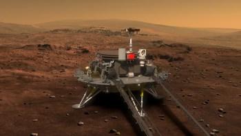 Ação torna a China a segunda nação espacial, depois dos Estados Unidos, a pousar no Planeta Vermelho