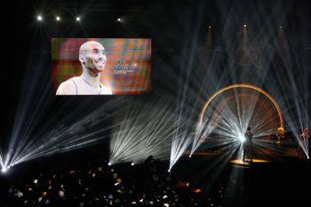 """""""Kobe era único. Ele era especial, humilde — fora da quadra — e maior do que a vida"""", disse sua esposa Vanessa durante a cerimônia"""