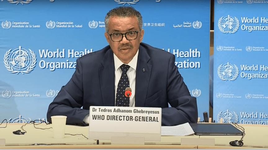 Diretor-geral da OMS, Tedros Adhanom Ghebreyesus falou sobre a importância da manutenção da campanhas de vacinação, especialmente para crianças
