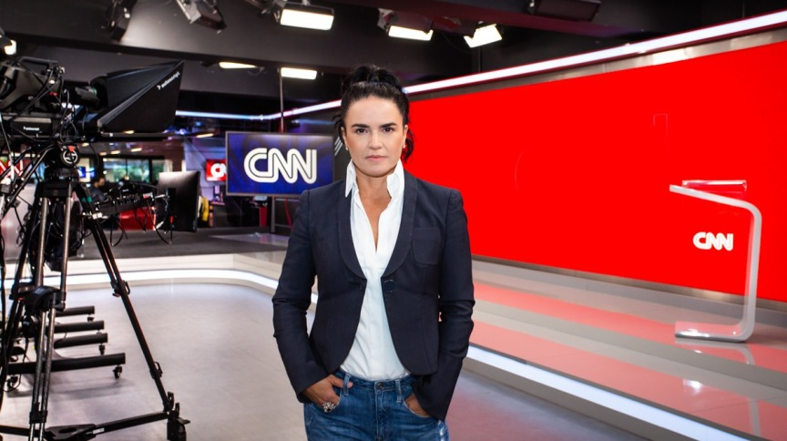A executiva e jornalista Renata Afonso, CEO da CNN Brasil