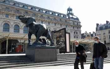 Governo francês fechou museus e outras atrações culturais no final de outubro de 2020
