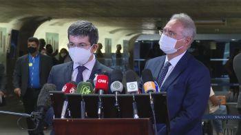 Relator da CPI, Renan Calheiros propõe contratação de agência de checagem por conta de 'mentiras que reiteradamente estão sendo ditas'
